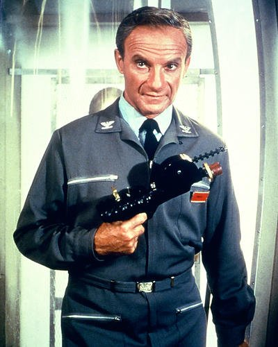 Lost in Space Featuring Jonathan Harris 8x10 Promotional Photograph with gun season...