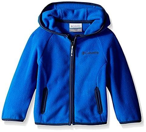 Columbia Baby Fast Trek Hoodie, Super Blue/Carbon, 18-24 Months