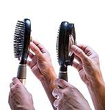 Self Cleaning Hair Brush - Easy Clean Detangle Brush or Comb - Retractable Brush Detangler for Wet or Dry Hair -&  ...
