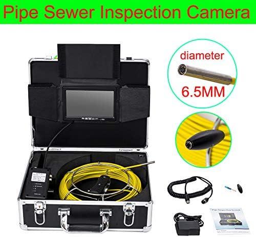 7インチ6.5ミリメートル工業用パイプライン下水道検知カメラIP68防水排水検知1000 TVLカメラ(30M)