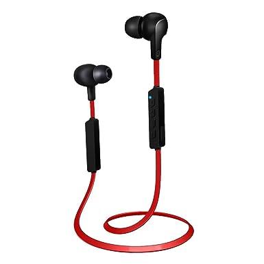 Auriculares inalámbricos, aispeed Bluetooth V4.1 Estéreo Deportes Auriculares Auriculares temporizador magnético sudor para