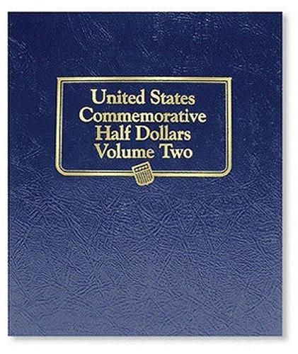 U.S Commemorative Half Dollar Vol II, Album (Us Commemorative Halves) (2 Commemorative Coins)