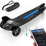 TOMOLOO Electric Skateboard and Three Wheels Electric Skateboard for MAX 265 lbs and Smart Electric Scooter Motorized Longboard with UL2272 Certified for Adults and Children