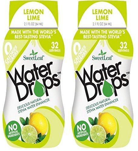 SweetLeaf Lemon Lime Waterdrops Ounce product image