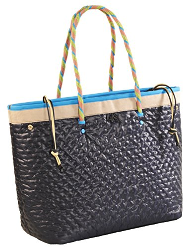 Shopping Bag L4K3 MISS LAKE Quilted Bleu
