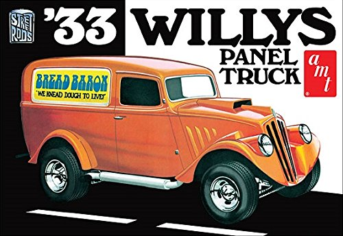 AMT879 AMT - 1933 Willys Panel Truck Skill Level by B2B Replicas from AMT