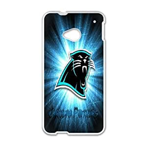 HTC One M7 Phone Case White Carolina Panthers VBN7169803