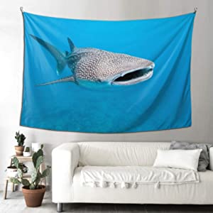 WHIOFE Wall Hanging Office Philippine Whale Shark The Wall Decoration Teen Tapestry 90x60 Inches(229x152cm) Wall Hanging Art Home for Living Room Bedroom