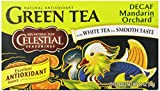 Celestial Seasonings Green Tea, Decaf Mandarin Orchard, 20 Count (Pack of 6)