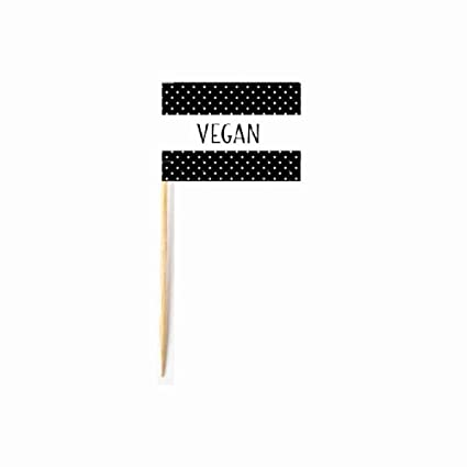 amazon com simply baked 7015658 food flag with vegan message