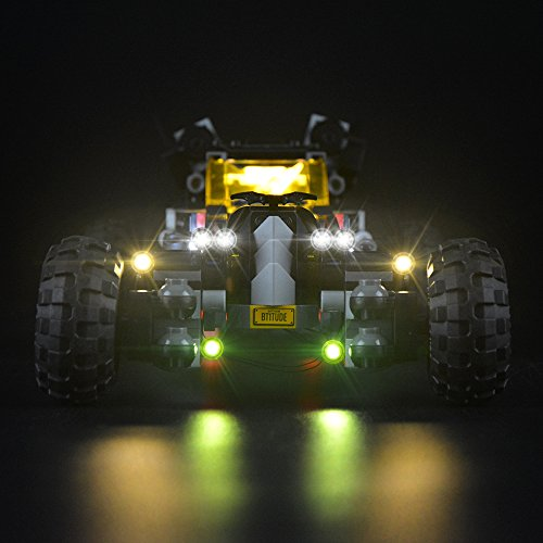 LIGHTAILING Light Set for (Batman Movie The Batmobile) Building Blocks Model - Led Light kit Compatible with Lego 70905(NOT Included The Model)