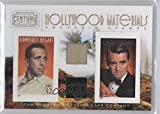 Cary Grant; Humphrey Bogart #206/250 (Trading Card) 2010 Panini Century Collection - Souvenir Stamps Hollywood Combos - Two Subjects Two Stamps Materials [Memorabilia] #10
