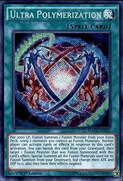 Yu-Gi-Oh Ultra Polymerization Secret Rare 1st Edition Maximum Crisis MACR-en052