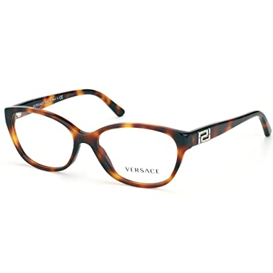 84cce93feed5 Amazon.com  Versace VE3189B Eyeglasses-5061 Havana-52mm  Shoes