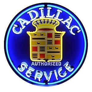 Neonetics 5CADSR Cadillac Service Neon Sign: Amazon.ca ...