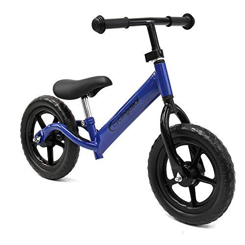 "Kids Child Push Balance Bike Bicyle 12"" Blue"