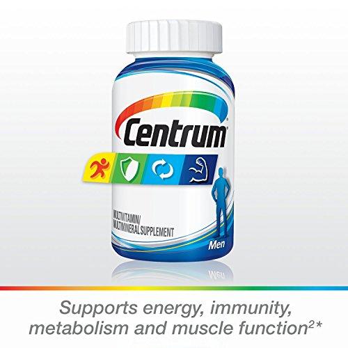 Centrum Men (250 Count) Multivitamin / Multimineral Supplement Tablet, Vitamin D3 by Centrum (Image #2)