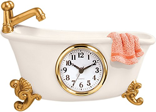 Miles Kimball Bathtub Clock