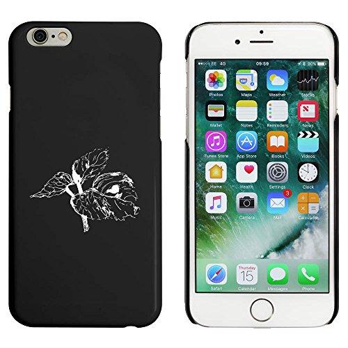 Schwarz 'Blätter' Hülle für iPhone 6 u. 6s (MC00088186)