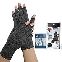 Doctor Developed Compression Arthritis Gloves - Doctor Written Handbook Included...