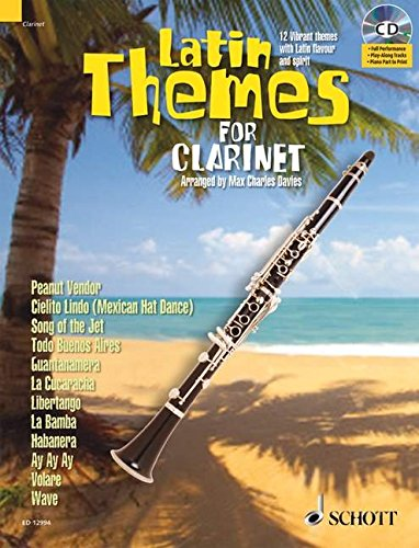 Latin Themes for Clarinet (Schott Master Play-Along) ()