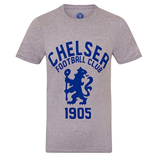 Chelsea Garment - Chelsea FC Official Soccer Gift Mens Graphic T-Shirt Grey Large