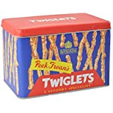 Twiglets Metal Storage Tin - Peek Freans Vintage Design