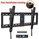"""Tilting Low Profile TV Mount with Post Installation Adjustment for Most 37-70' Flat-Panel TVs, TV Wall Mount up to 132lbs, Max VESA 600x400mm, Fits 16""""- 24"""" Wood Studs by Mounting Dream"""