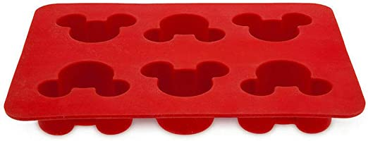 Mickey Mouse Icon Ice Cube Tray Mold Silicone Walt Disney World Theme Parks NEW