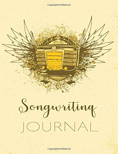 Songwriting Journal: Songwriting Journal For Songwriters (8.5 x 11)(120 Lined/Ruled Pages)(V1)