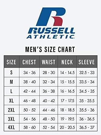 Russell Athletic Mens Dri-Power Closed-Bottom Fleece Pant