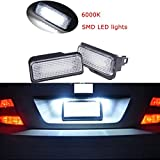 Ricoy For Mercedes Benz W203 W211 W219 5Dr R171 White License Number Plate LED Light Error Free