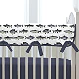 Carousel Designs Gone Fishing Crib Rail Cover