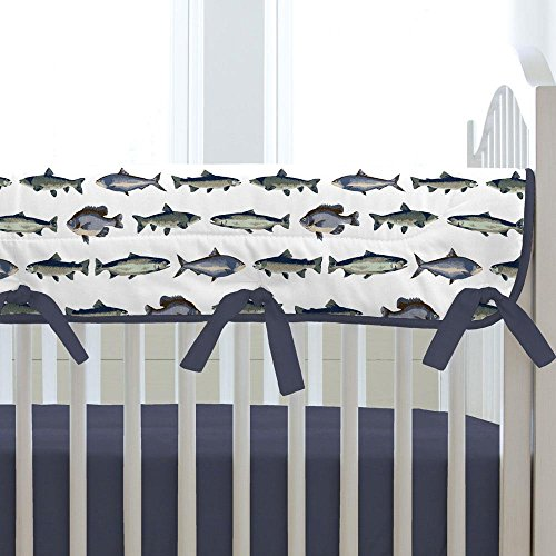 Carousel Designs Gone Fishing Crib Rail Cover by Carousel Designs