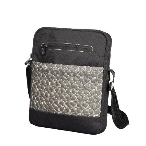 Sherpani Luggage App, Pewter/Black, One Size (Wallet Travel Sherpani)