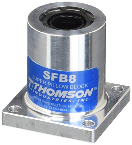 Thomson SFB8 Super Bushed Ball Pillow Block, Flanged, Single Type, 1/2