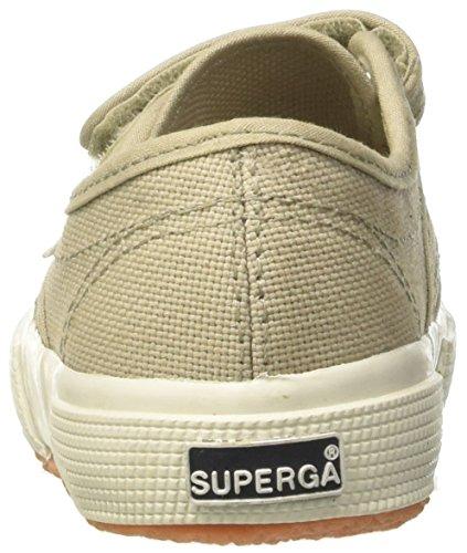 Superga 2750 Jvel Classic Zapatillas Unisex Para Niños, Blanco (White), 22 EU topo