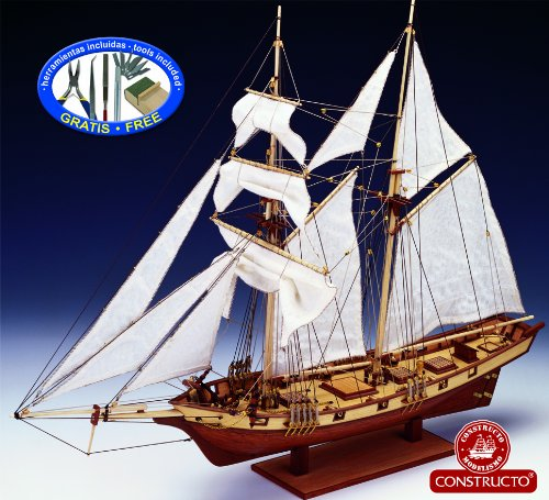 Constructo D80702 Holzbausatz Albatros