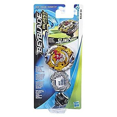 BEYBLADE Burst Turbo Slingshock Balar B4 Single Battling Top, Right-Spin Attack Type, Age 8+: Toys & Games