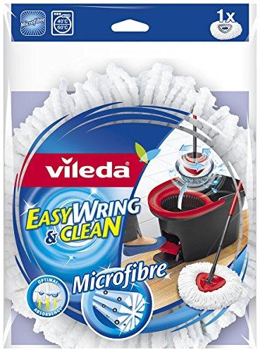 vileda easy wring clean recambio de microfibra para fregona. Black Bedroom Furniture Sets. Home Design Ideas