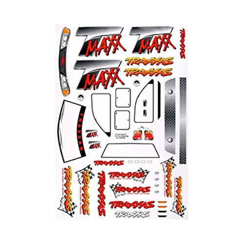 Traxxas Decal Sheet: T-Maxx .15 - 2.5
