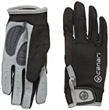 Canari Women's Gel-xtreme Full Finger Cycling Gloves, Black, Small