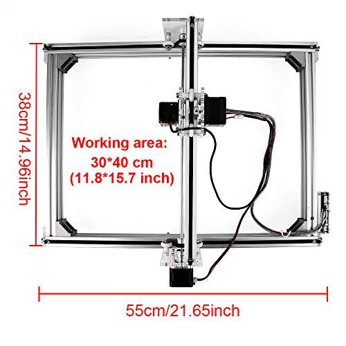 2500mw Laser CNC Engraving Machine, Tsemy Direct DIY 3040 CNC