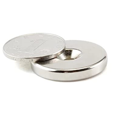 Sunkee 5pcs fuerte de disco de diámetro 15 mm x 5mm agujeros de 5 kg de