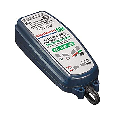 OptiMATE Lithium 4s 0.8A, TM-471, 8-step 12.8V 0.8A sealed battery saving charger & maintainer: Automotive [5Bkhe2010841]