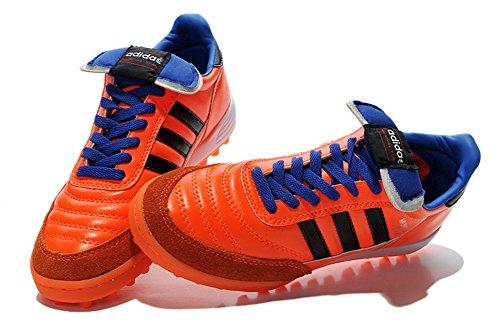 Lissay Shoes Mens Mundial Team Astro Orange Football Soccer Boots
