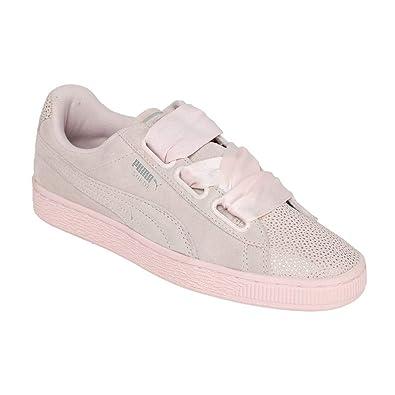 super cute 07677 5d0bc Puma Women's Suede Heart Bubble WN's Sneakers
