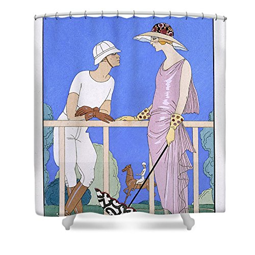 Pixels Shower Curtain (74