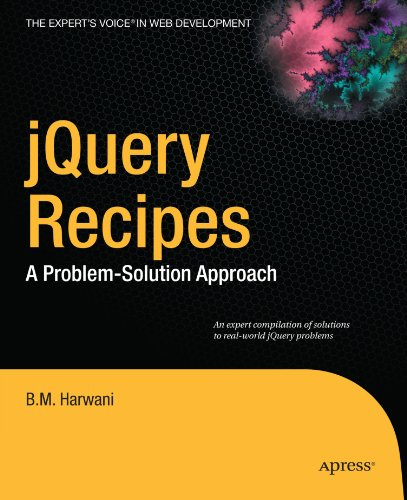 jQuery Recipes: A Problem-Solution Approach (Expert's Voice in Web Development)