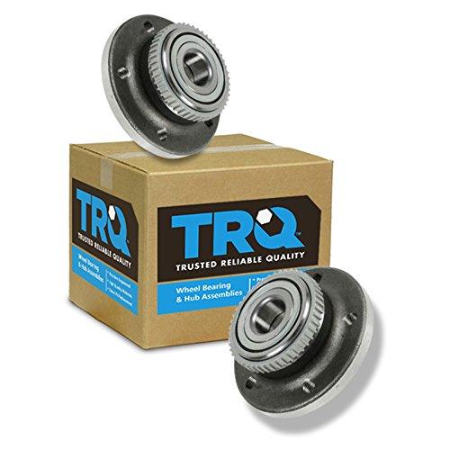 TRQ Rear Wheel Bearing Hub Assembly Pair Set Of 2 For Volvo 850 V70 C70 S70
